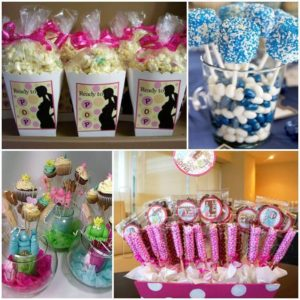 adornos para baby shower sencillas
