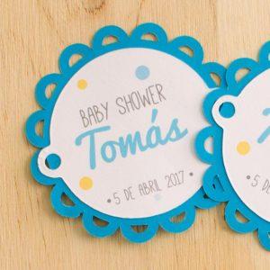 etiquetas para baby shower para imprimir