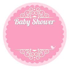 etiquetas para baby shower niña