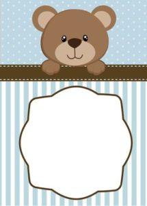 etiquetas para baby shower de niño