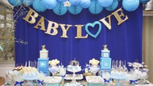 tema baby shower de niño