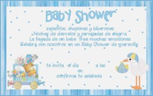 frases para baby shower invitacion