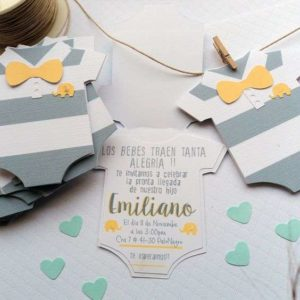 invitaciones para baby shower niño