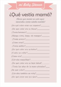 Imagenes De Juegos Para Baby Shower Para Imprimir Gratis Balbuceo